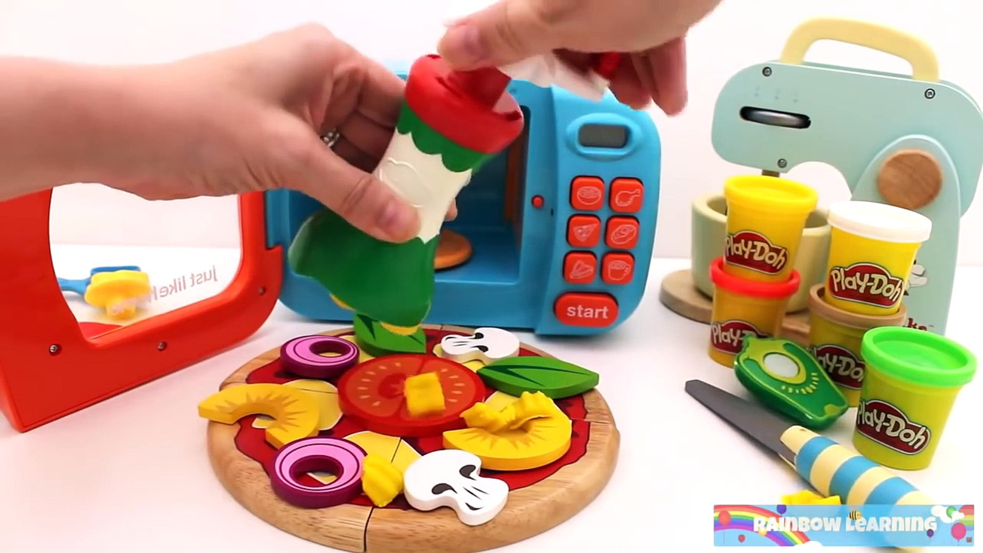 Комп комп комп крем резка английский фрукты полный лед Узнайте имен пицца Р.Л. игрушка Игрушки овощи