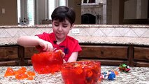 Worlds LARGEST GUMMY WORM Surprise Egg! Best Candy + HUGE Snickers, Giant Gummy Bear Fun
