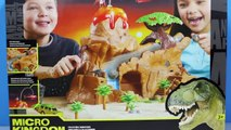 GIANT DINOSAUR EGGS Full of Toy Dinosaurs, Surprise Dinosaur Toys, Puzzles, Dino Dig Video