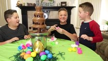 Bashing Giant Chocolate Kinder Surprise Egg   Gummi Candy Surprise! Kids Candy &