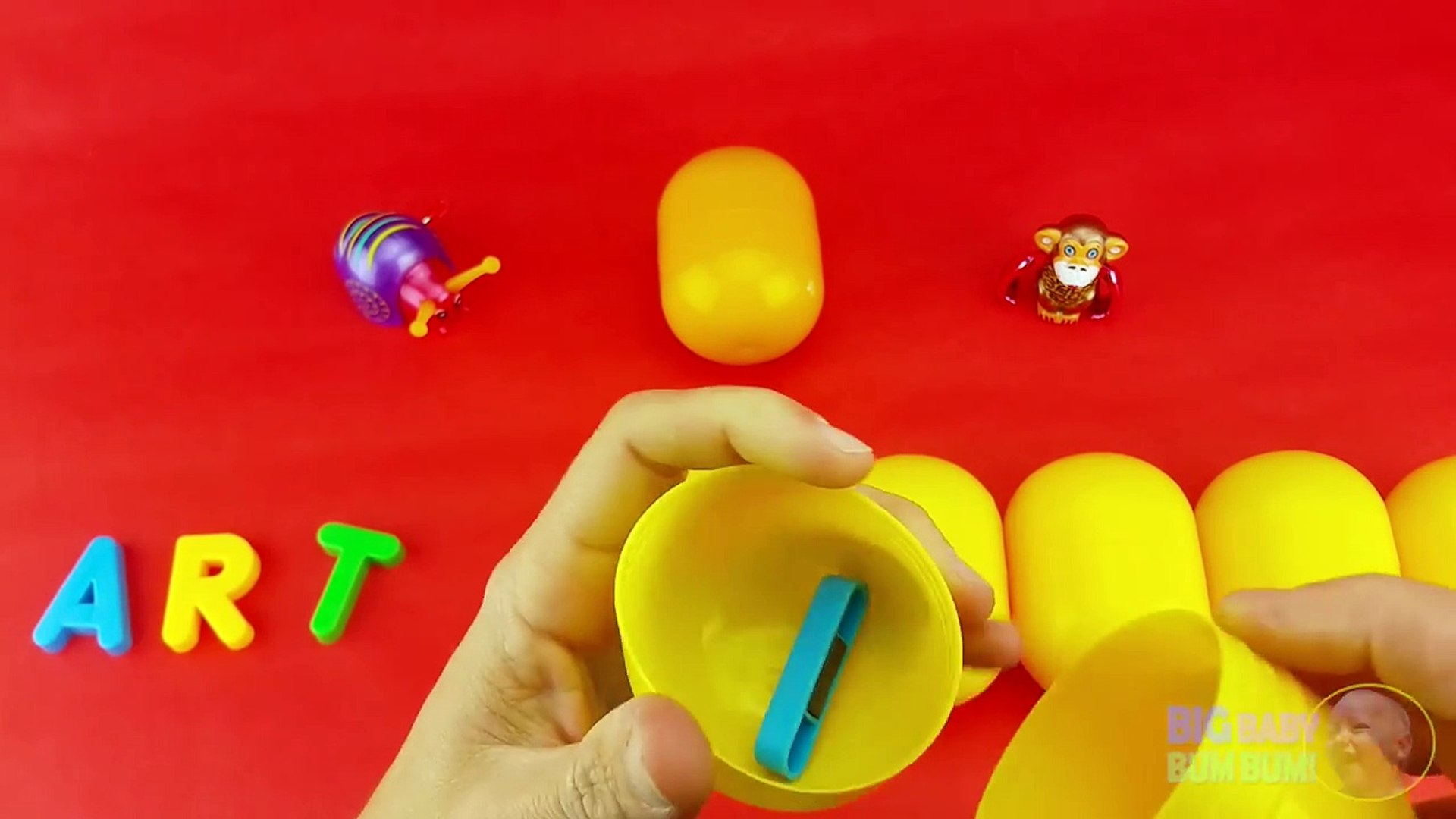 в и к яйцо Узнайте Урок Минни мышь Написание сюрприз овощи слово 16