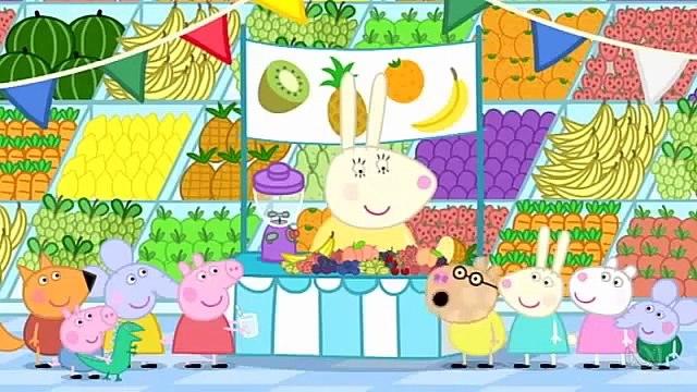 Peppa Pig Season 4 Episode 45 in English - Fruit