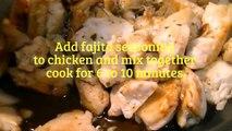 The Best Mexican Chicken Fajitas Recipe- Cooking Chicken Fajitas My Way