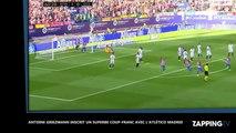 Antoine Griezmann inscrit un superbe coup-franc avec l'Atlético Madrid (vidéo)