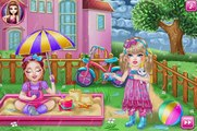 Baby Monster , Baby Rapunzel and Chelsea Flu Doctor | Game For Children | Baby Care Games