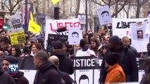 """Echauffourées à Paris lors de la manifestation contre les """"violences policières"""""""