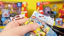 Kidrobot Mega Unboxing BFFs Simpsons Futurama Chaos Bunnies Dunny Blind Box Disney Cars To