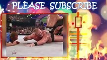 WWE Brock Lesnar vs The Rock - MOST BRUTAL FIGHT - The Rock almost died (Full Match)