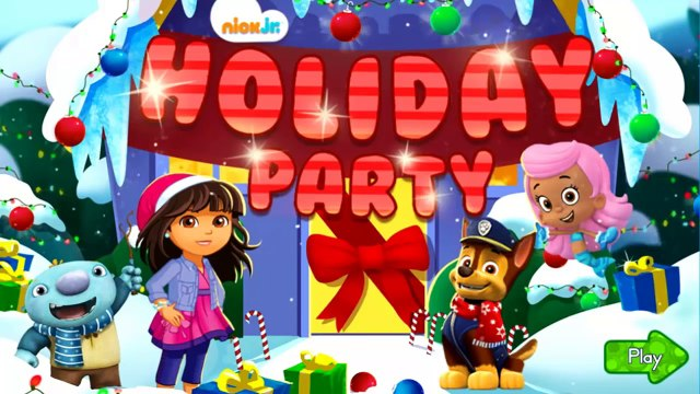 Happy Holidays - Holiday party: Bubble Guppies, Dora and Friends, Paw Patrol