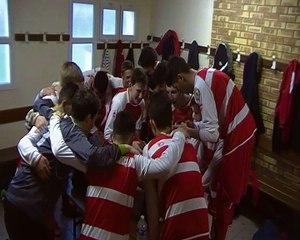 Les U16 apres la victoire face à Tilloy 3-0