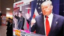 Trump: North Korea Is 'Acting Very, Very Badly'
