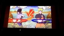 Naruto Shippuden: Ultimate Ninja Storm 3: EMS Sasuke vs KCM Naruto (Planetary Rasengan )