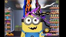 ❀.❤ Minion At Hair Salon : Makeover Games / Hairstyle Games / Minion Has a Cool Haircut ❀.