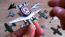 Learning Planes and Fighter Jet for Kids - Disney Planes and Military Planes Toys Collecti