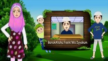 knowing the treasure on replying with duas - Animation cartoon for children
