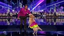 America's Got Talent 2016 Jose & Carrie The Dancing Dog Full Judge Cuts Clips S11E10