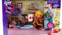 My Little Pony Applejack Slumber Party Games * MLP Equestria Girl Doll Toys 2016 DCTC