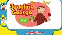 Любопытный джордж жонглирование джордж любопытный джордж Игры ПБС Дети