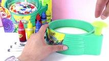Spin Art Maker Crayola - Démo 2 - Super motifs à réaliser avec le Spin Art Maker