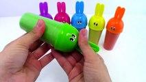 DIY Kinetic sand Sand Hello Kitty Clay Learn Colors Popsicle Ice Cream Bunny Molds Clay Slime-kmXN8