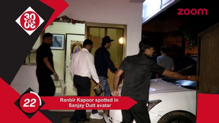 Ranbir Spotted In His Sanjay Dutt Avtaar,What Made Anushka Say Next Question