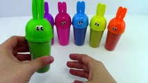 DIY Kinetic sand Sand Hello Kitty Clay Learn Colors Popsicle Ice Cream Bunny Molds Clay Slime-kmX