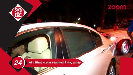 Alia's Star Studded Birthday,Kajol Wants To Mend Ways With Shahrukh