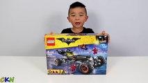 LEGO Batman Movie The Batmobile Set Toys Unboxing And Assembling Fun With Ckn Toys-1EPK