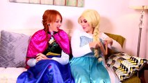 Frozen Elsa & Spiderman DANCE CHALLENGE! w_ Joker Anna Hulk Minions Spidergirl Fun In Real Life-nf4PMn