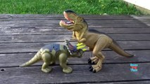 Dinosaur Walking Triceratops Light and Sound - Dinosaurs Toys For Kids-wTq