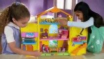 Кукольный дом Дора Проводник рыболов цена сюрпризы в окно mattel