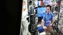 Thomas Pesquet échange en direct depuis l'espace avec des collégiens de Noyon