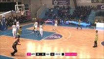 LFB 16/17 - J21 : Lattes Montpellier - Hainaut Basket