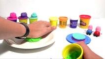 (TOYS) Comment faire un Rainbow Cake en pâte à modeler ♡ Peppa Pig Gâteau en Arc-en-ciel P