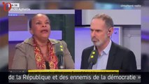 Christiane Taubira attaque le FN : la réponse cinglante de Florian Philippot