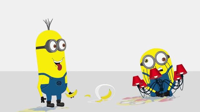 Minions Mini Movies 2016 Minions Chandelier Banana Funny Cartoon