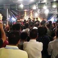 Syed Raza Abbas Zaidi Live Noha Khowani at Gulistan-e-Johar 6th Rabi-ul-Awal 2016