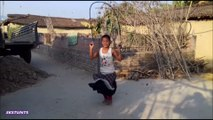 Amazing rope skipping in new way | Nice stunts | Nice styles | Must watch | HD