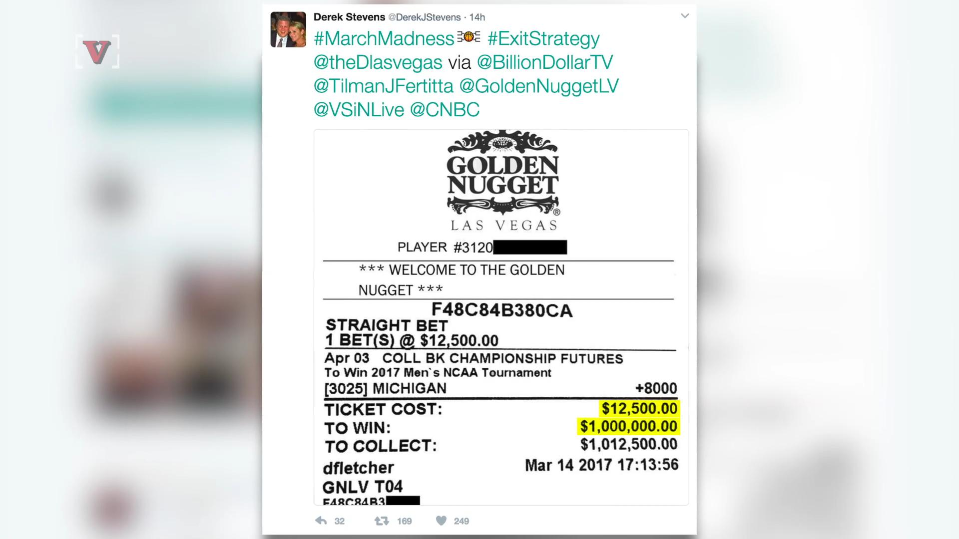 Vegas Casino Owner Could Win Big Betting On Michigan In The NCAA Tournament