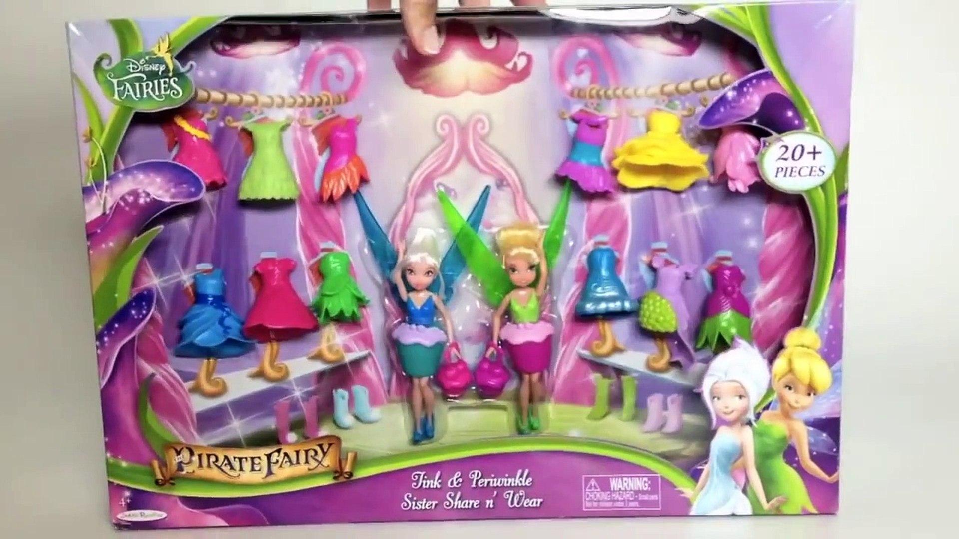 Disney Fairies Tink & Periwinkle Sister Share n Wear Disney Pirate Fairy Movie Fairies Dr