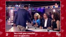 Clémentine Célarié refuse de serrer la main de Florian Philippot
