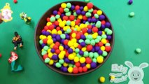 Learn Colours with Dippin Dots Hidden Surprise Toys and Spongebob Pets Shop Mario Toys