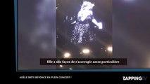 Adèle parodie Beyoncé en plein concert (vidéo)