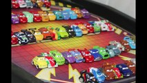 Disney Cars Micro Drifters in Crossfire with Special Cars Rip Clutchgoneski and Lightning