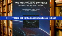 Download The Mechanical Universe. Introduction to Mechanics and Heat. PDF Best Collection