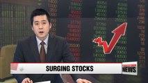Korea's benchmark KOSPI marks six-year-high Wednesday, exceeding 2200 threshold