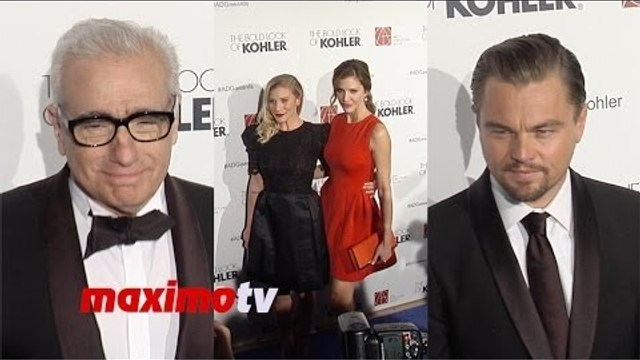 "18th Annual ""ADG Awards"" Leonardo DiCaprio, Martin Scorsese, Julia Stiles, Katee Sackhoff"