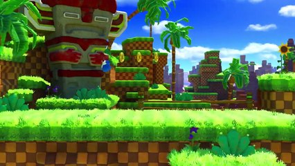 Sonic Forces : Sonic Forces   Classic Sonic - Green Hill Zone Gameplay