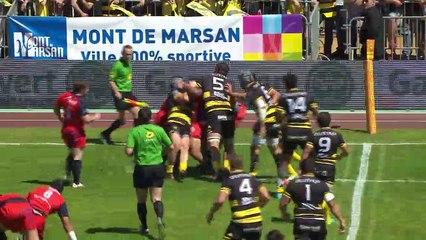 J28 Résumé Stade Montois - Stade Aurillacois - PRO D2 - Saison 2016-2017