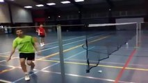 Best Badminton trickshot | | Baddies badminton